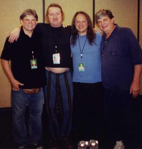 with Don Everly, Mark Stewart, Phil Everly