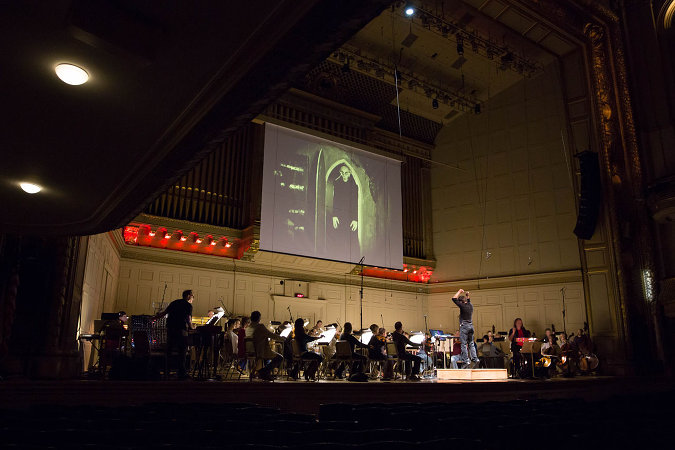 Rob Schwimmer at the Theremin with the Boston Pops