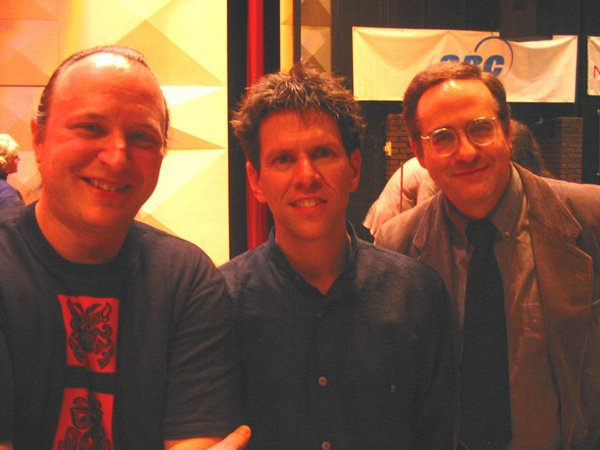 with Jonathan Sheffer (conductor of Red, An Orchestra) <br>and Albert Glinsky (biographer of Leon Theremin)