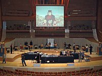 The 10 Piece Theremin Orchestra<br>teching at Disney Concert Hall (LA)